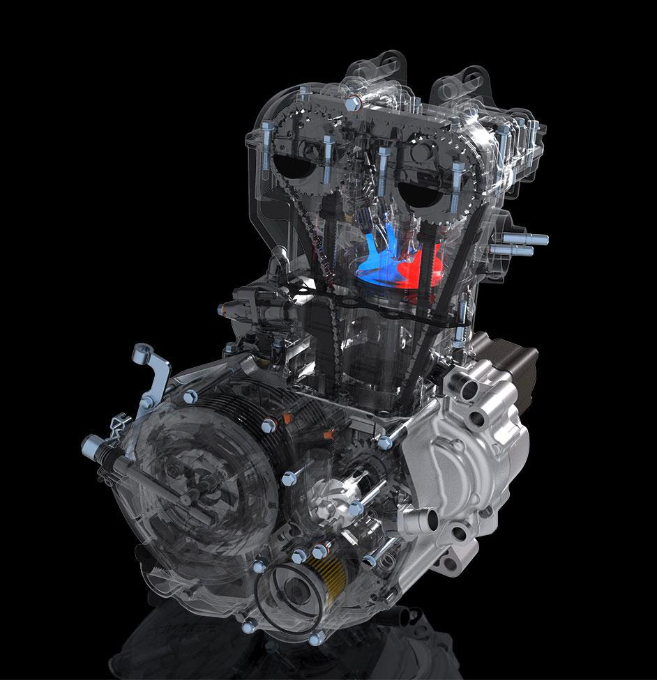 310 T1 motore